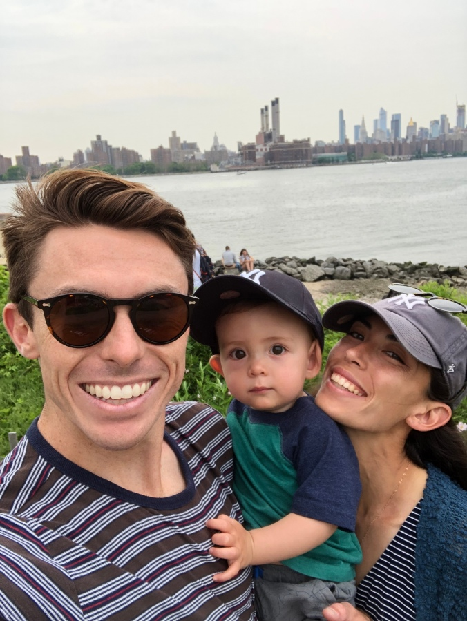 New York City with a 1-YearOld