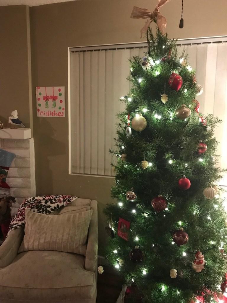family Christmas tree traditions