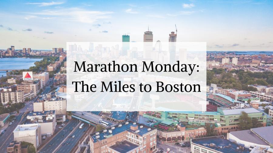 marathon monday running blog about training for Boston Marathon